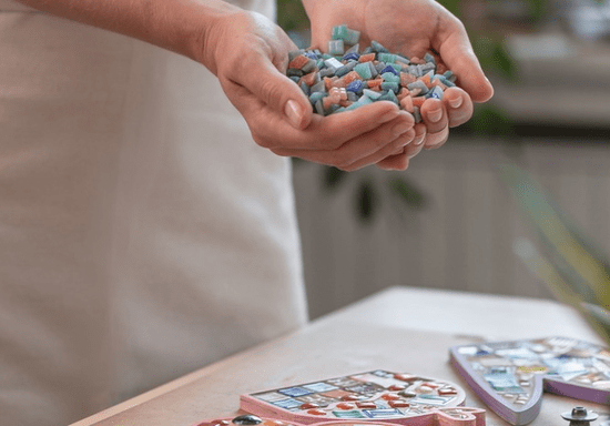 Online Class: DIY Mosaic Art with Recycled Materials