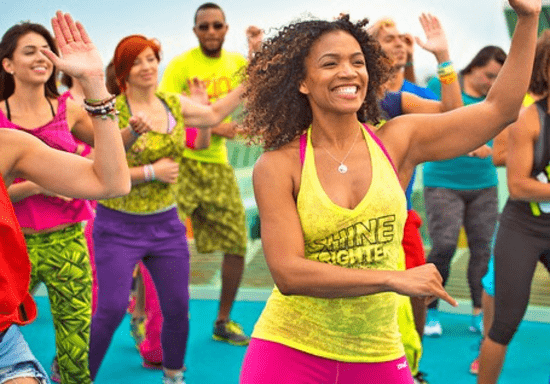 Groove into Zumba