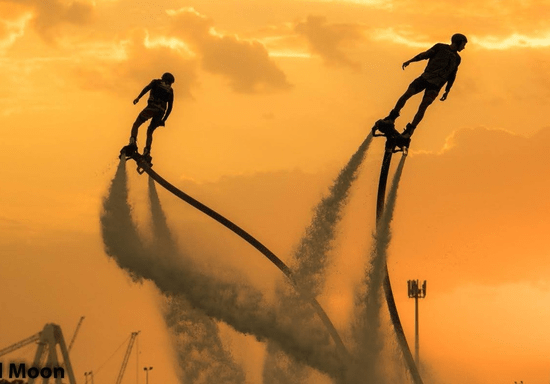 Flyboard Tricks Training Session