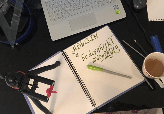 Online Class: Arabic & English Calligraphy For Kids - Ages: 6-16