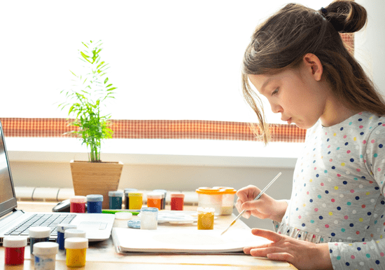 Online Class: Creative Art & Painting for Kids - Ages: 5-14