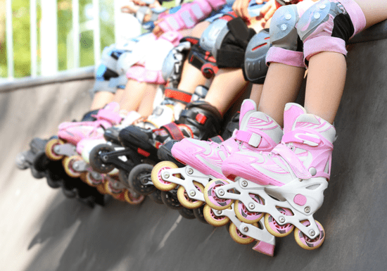Roller Skating - Ages: 4-15 (Al Quoz)