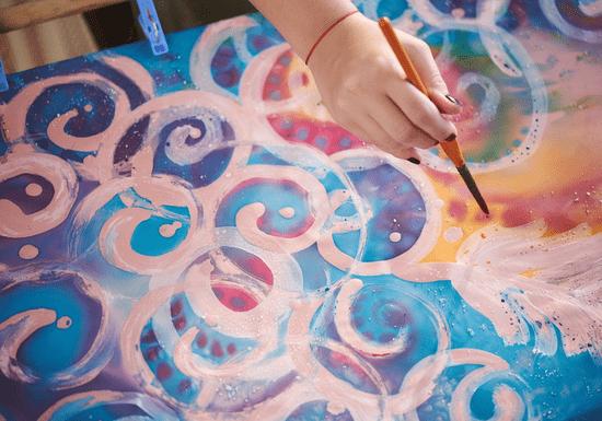 Silk Painting with Yoshita