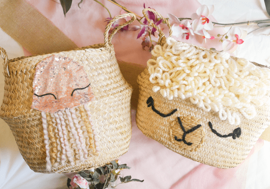 Online Class: Decorate Your Own Belly Baskets