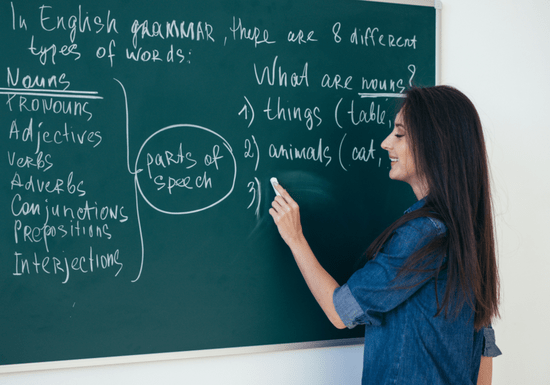 English Lessons with a Native Instructor
