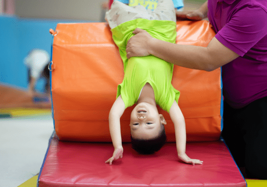 Group Gymnastics for Toddlers - Ages: 3-7
