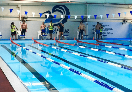 Group Swimming with Male Instructor