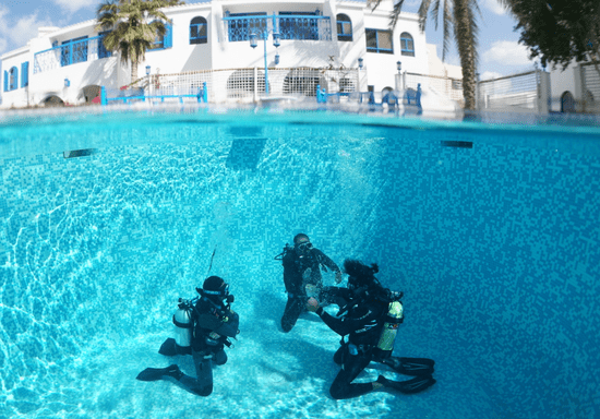 Try Diving Experience in a Pool
