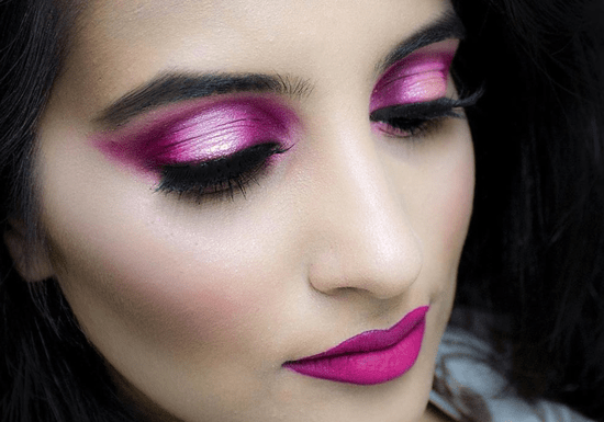 Private Halo Eyes Shadow or Cut Crease Eye Makeup Class