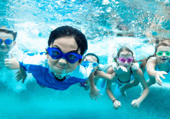 Group Swimming with Male/Female Instructor - Ages: 3-12