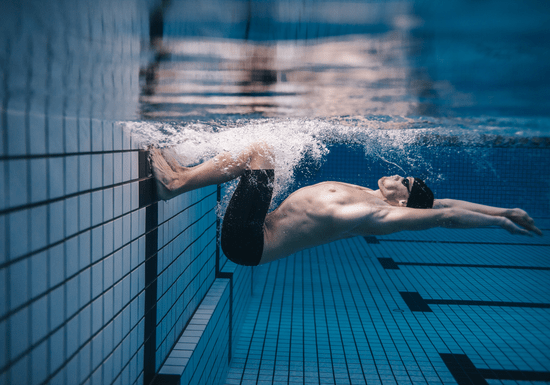 Private Swimming Classes with Male Instructor