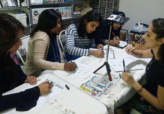 Calligraphy Bootcamp: Basics, Blending & Flourishing Workshop