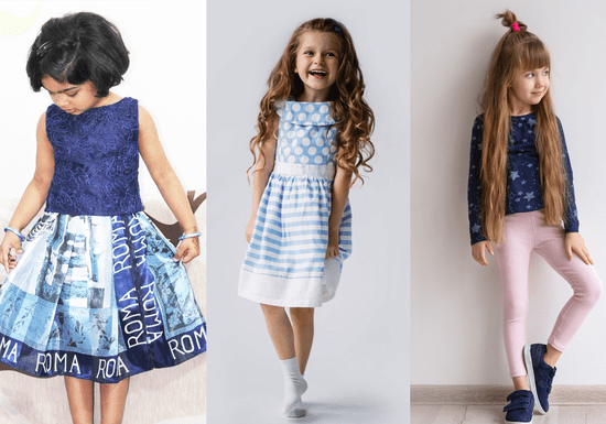 Make Your Own Kid's Skirt, Frock or Pants