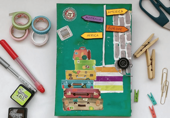 Junk Journal & Scrapbook 101: Keep Your Memories Alive