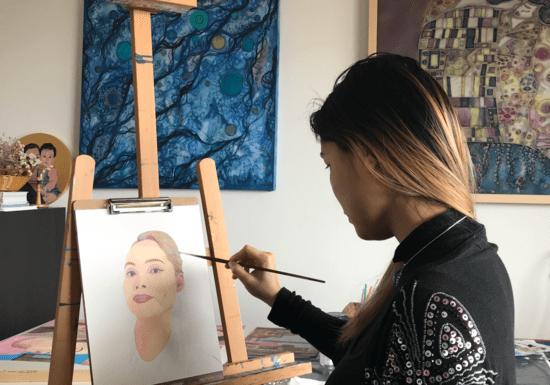 Online Class: Realistic Portrait Oil Painting with Luna