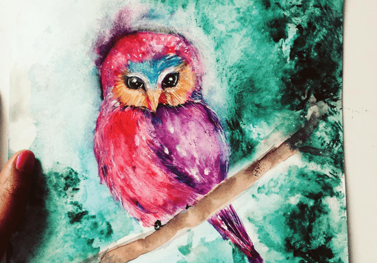 Online Class: Drawing & Watercolor Painting for Kids - Ages: 5-13