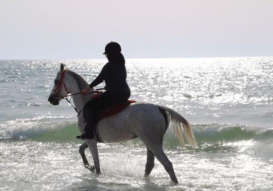 Beach Horse Riding Experience for Ladies (Al Hamriyah - Sharjah)