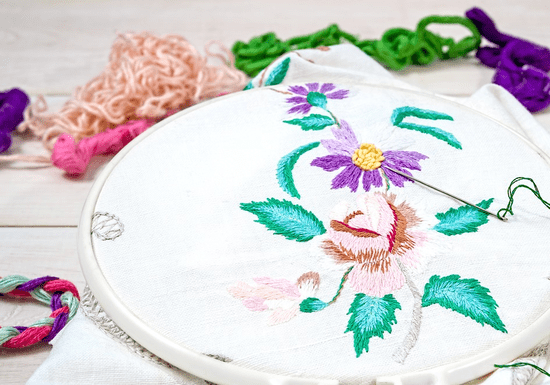 Hand Embroidery Lessons for Ladies