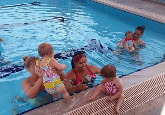 Aqua Tots: Parent-Assisted Swimming for Ages: 1-2.5 (Mercure Hotel)