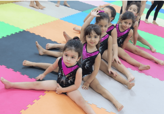 Floor Gymnastics for Girls - Ages: 3.5-14 (MBZ City)