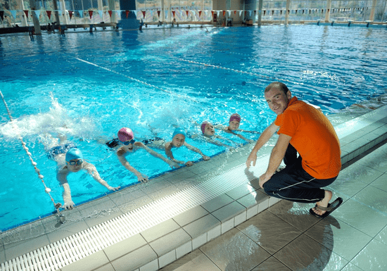 Swimming Group Class for Beginners