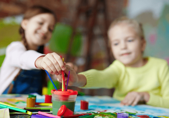 Art Therapy Painting Class for Kids - Age: 5-15