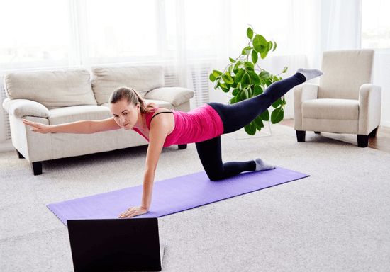 Online Class: Stay Fit with Yoga or Pilates Sessions