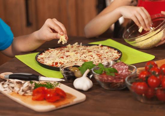 Kids Masterclass: Savoury Pizza - Ages: 4-12 (Al Muneera)
