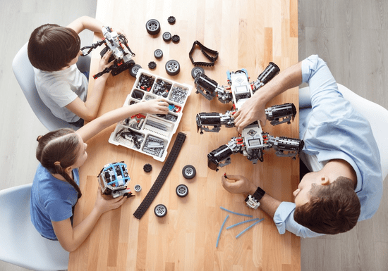 Robotics for Kids & Teens - Ages: 5-15