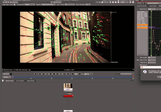 3D Tracking and Nuke Compositing