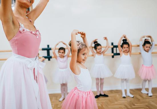Ballet for Kids - Ages: 3-10