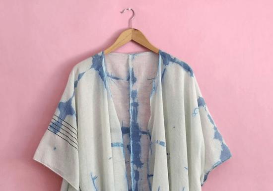 DIY Shibori Dyeing Technique