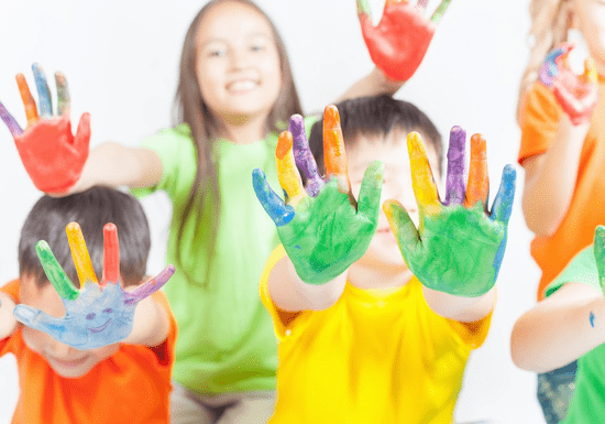 Colorful Art Birthday Party for up to 15 Kids - Ages: 4+