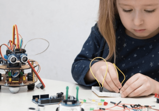 1-on-1 Electronics for Kids - Ages: 12-18