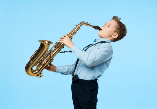 Learn Saxophone with Maby for Kids - Ages: 6-17