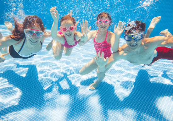 Group Swimming Classes for Kids - Ages: 5-16