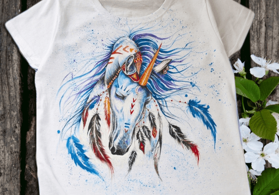 Online Class: Wearable T-Shirt Painting with Luna