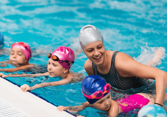 Swimming for Kids with Female Instructor - Ages: 6-14