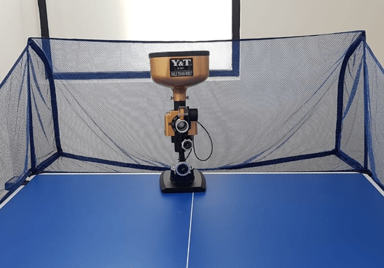 Practice Table Tennis with A Robot!
