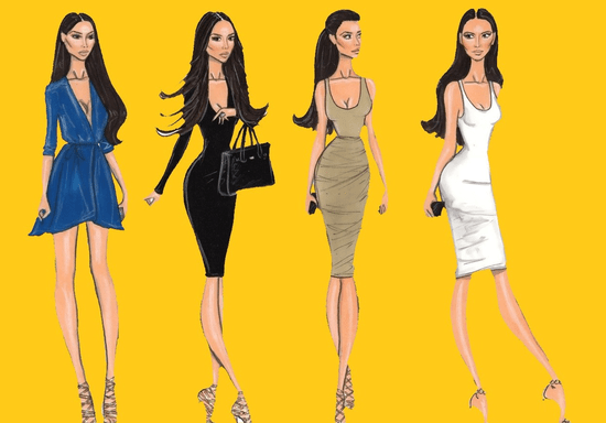 Celebrity Inspired Styling & Fashion Drawing Course