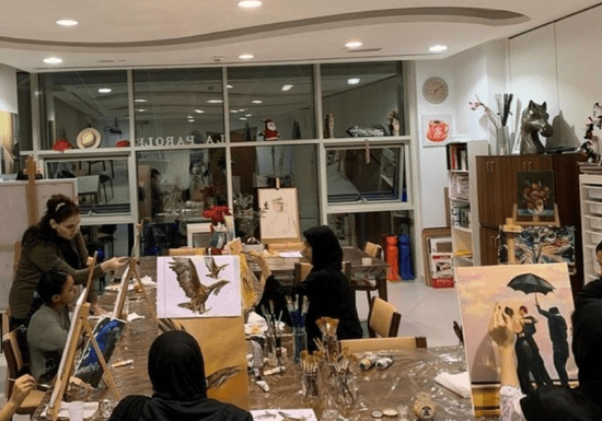 Fine Art Group Class with International Artist for Ladies