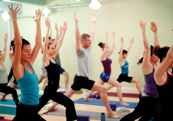 Power it up Yoga