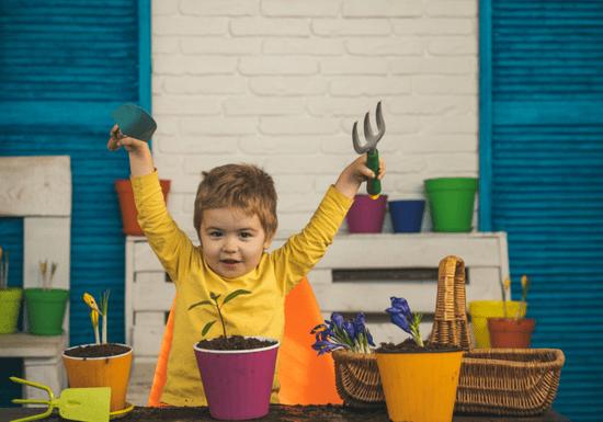 Online Class: Mini Plants for Kids