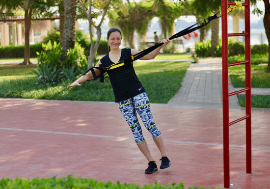 Personal Fitness: TRX Suspension Core Training with Kerstin