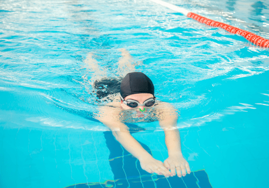 At-Home Swimming Classes with Female Instructor