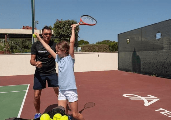 Private Tennis Training With Davide Giusti - Ages: 4-11