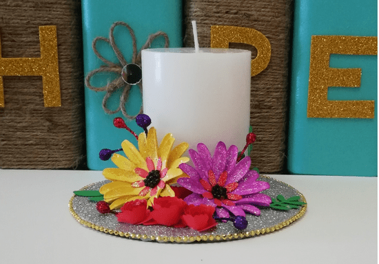 DIY Decorate Your Own Candle Holder