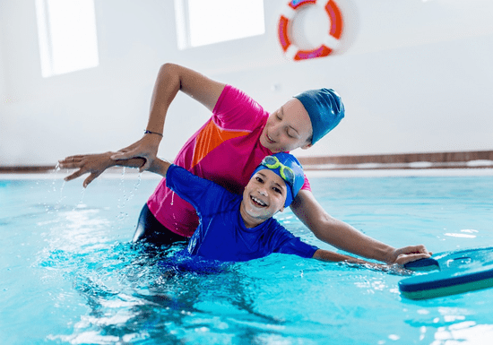 1-on-1 Swimming Lessons for Kids - Ages: 5+