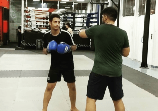 Private Kickboxing Training
