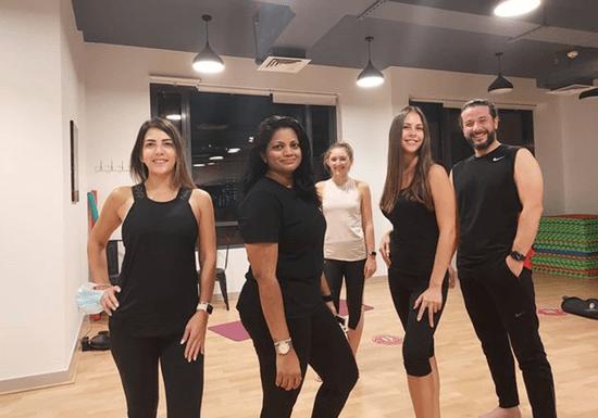 Group Vinyasa Yoga Class